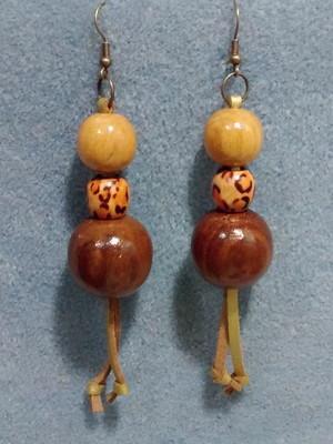 Maxi Brincos de madeira