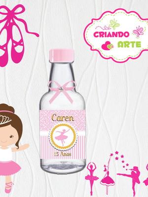 Garrafinha Personalizada Bailarina