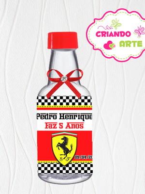 Garrafinha Personalizada Ferrari