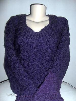 Blusa em tricot lana piu Belle