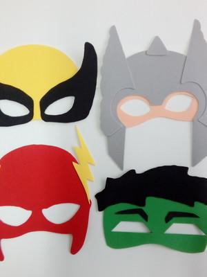 Máscaras Adulto de Super-Herois de eva