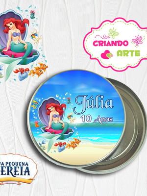 Latinha Personalizada A Pequena Sereia