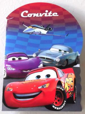 Convite Especial Carros (10 un.)
