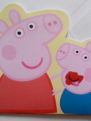 Convite Especial Peppa Pig (10 un.)