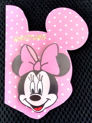 Convite Especial Minnie Rosa (10 un.)