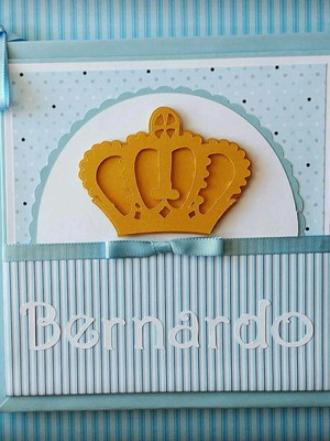 diário livro bebê personalizado menino príncipe azul