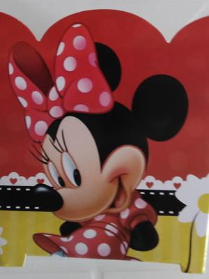 Cachepot Minnie Vermelha (01 un)
