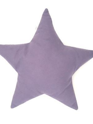 Almofada de Estrela em feltro roxinho