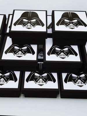 Caixa Mdf Personalizada Star Wars