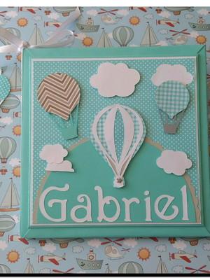 Livro do Bebê balões Tiffany e