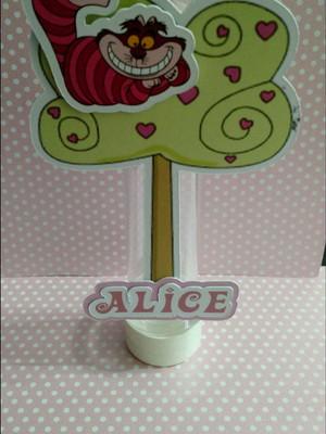Tubete Alice no País das Maravilhas