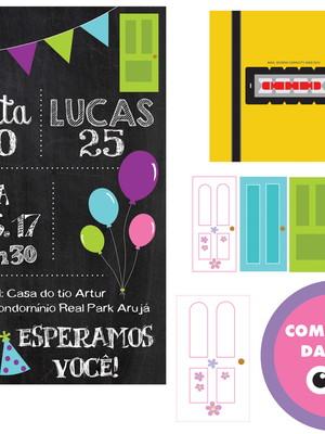 Kit digital - Festa Monstros SA