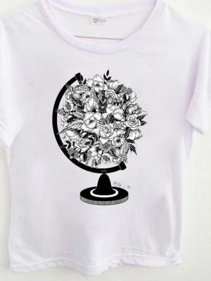 T-shirt Globo flowers