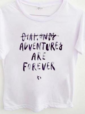 T-shirt Diamonds or adventures