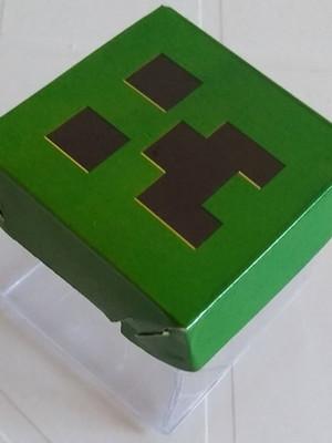 Caixinha Acetato Minecraft (10 un)