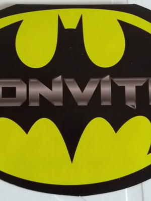 Convite Especial Batman (10 un.)