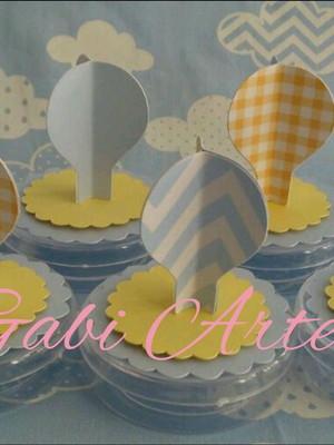 Latinha balão 3D