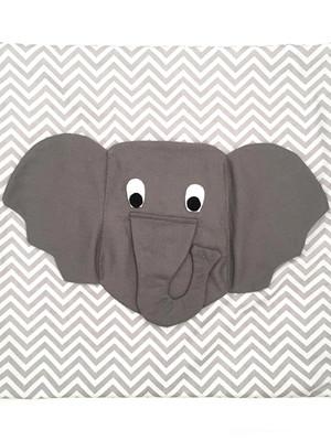 Capa almofada porta controle remoto Elefante *