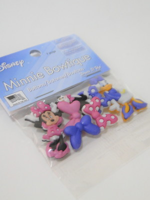 Botões Disney - Minnie Boutique