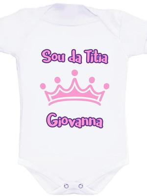 Body Bebê Sou da Titia_1