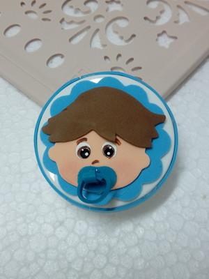 Lembrança Chá de Bebê Menino de EVA.