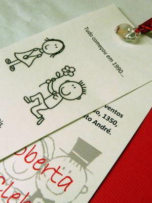 Convite de Casamento cód A02