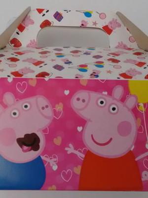 Caixa Box Pequena Peppa Pig (01 unid.)