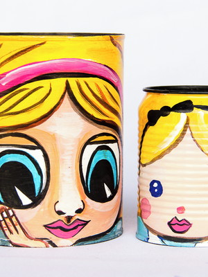 Alice | kit com 2 latas
