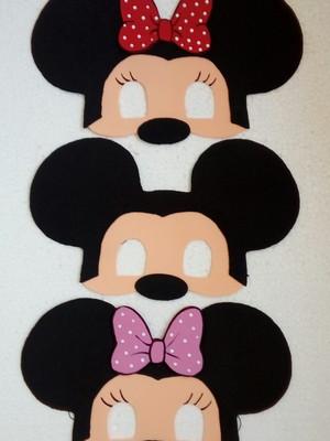 Mascaras Mickei e Minnei de EVA