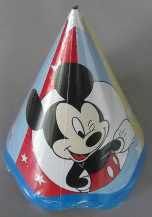 Chapeu Aniversario Mickey (08 unid.)
