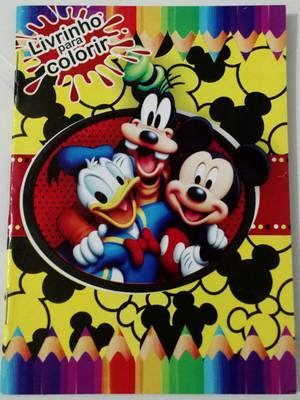 Livrinho Colorir Mickey (01 unid.)