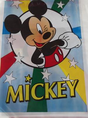 Sacola Plastica Mickey Azul (10 unidades)
