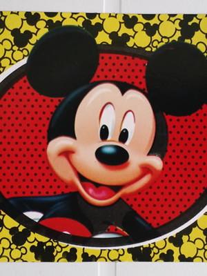 Tampa Marmitinha Mickey (10 unid.)