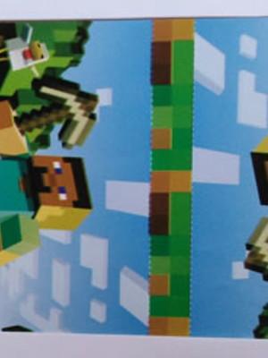 Capa Pirulito Minecraft (10 unid.)