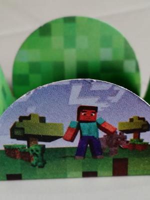 Forminha Minecraft (48 forminhas)