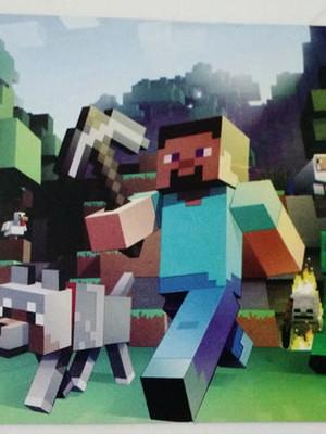 Tampa Marmitinha Minecraft (10 unid.)
