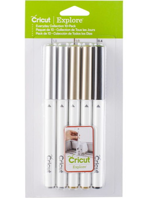 Cricut - Kit Canetas - Pack de 10