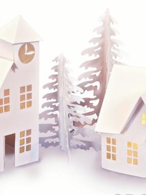 Arquivos silhouette Casinhas de Natal