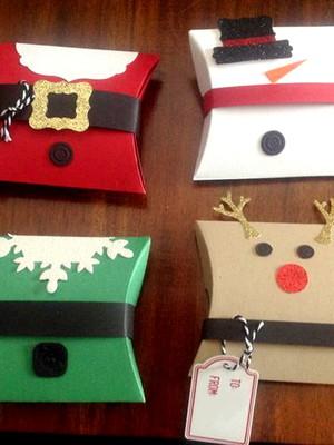 Arquivos silhouette Caixas de natal