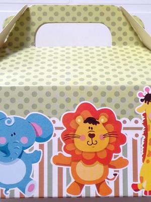 Caixa Box Pequena Floresta Safari (01 unid.)
