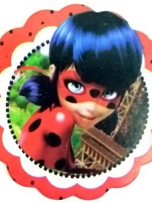 Aplique Pequeno Ladybug (30 unid.)