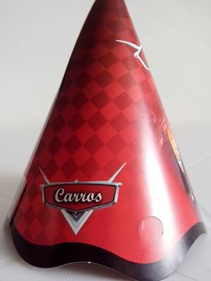 Chapeu Aniversario Carros (08 unid.)