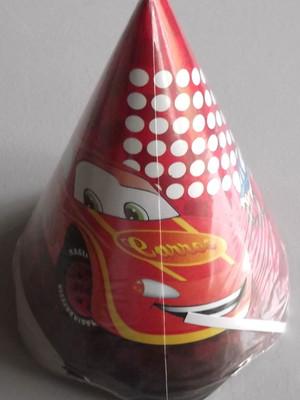 Chapeu Aniversario Carros POP (08 unid.)