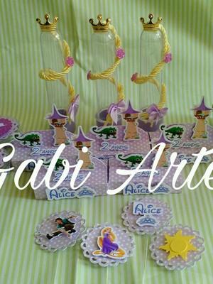 Kit festa tema Rapunzel