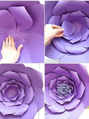 Molde Flor Gigante