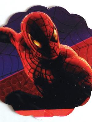 Aplique Pequeno Homem Aranha (30 unid.)