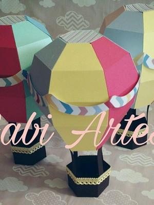 Balão decorativo 3D