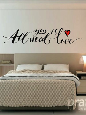 Adesivo de Parede - All You Need is Love