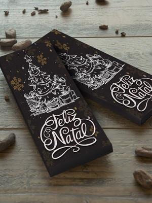 Arquivo silhouette Caixa para barra de chocolate Luxo