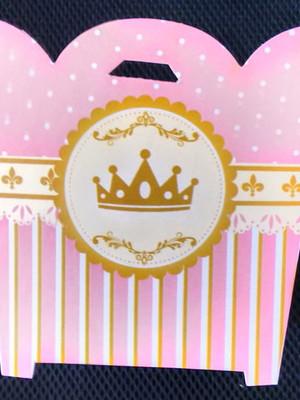 Cachepot Coroa Rosa Realeza (01 un)